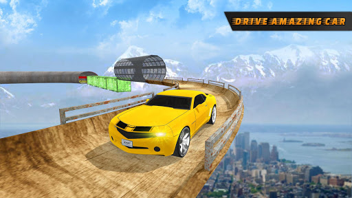Impossible Car Stunt game : Car games screenshot 13