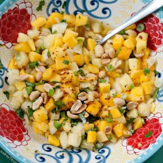 Mango and Pineapple Salad.