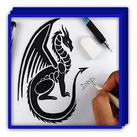 Рисование дракона