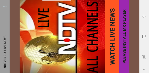 NDTV LIVE INDIAN NEWS CHANNELS 1 0 apk download for Android • com