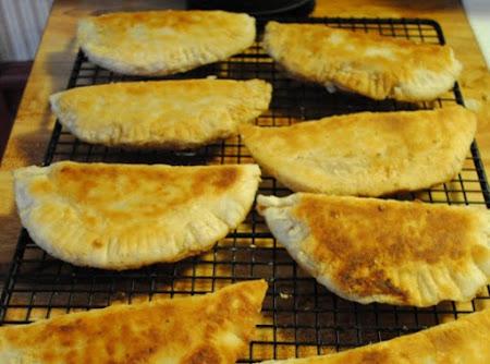 Fried dried peach pies Recipe