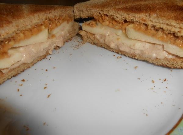 Nutty Apple Sandwich Recipe