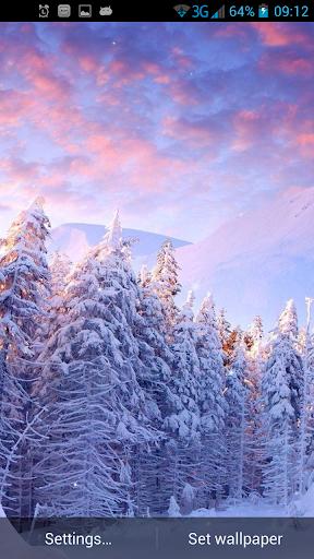 冬季魔术动态壁纸