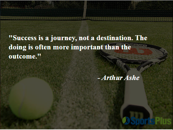 Success is a journey, not a destination. The doing is often more important than the outcome.