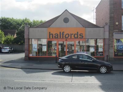 Halfords On Birmingham Road Car Accessories Parts In Bromsgrove