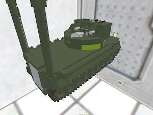 AAPC [Amphibious APC] with AA