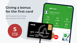 screenshot of alif.mobi -  mobile wallet with no commission 24/7