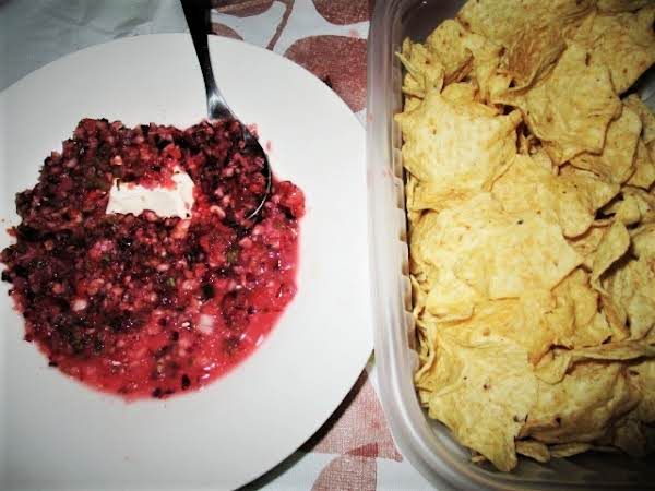Fresh Cranberry Apple Salsa Recipe