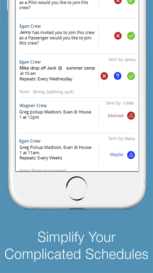 Moiety - Simplify Schedules- screenshot
