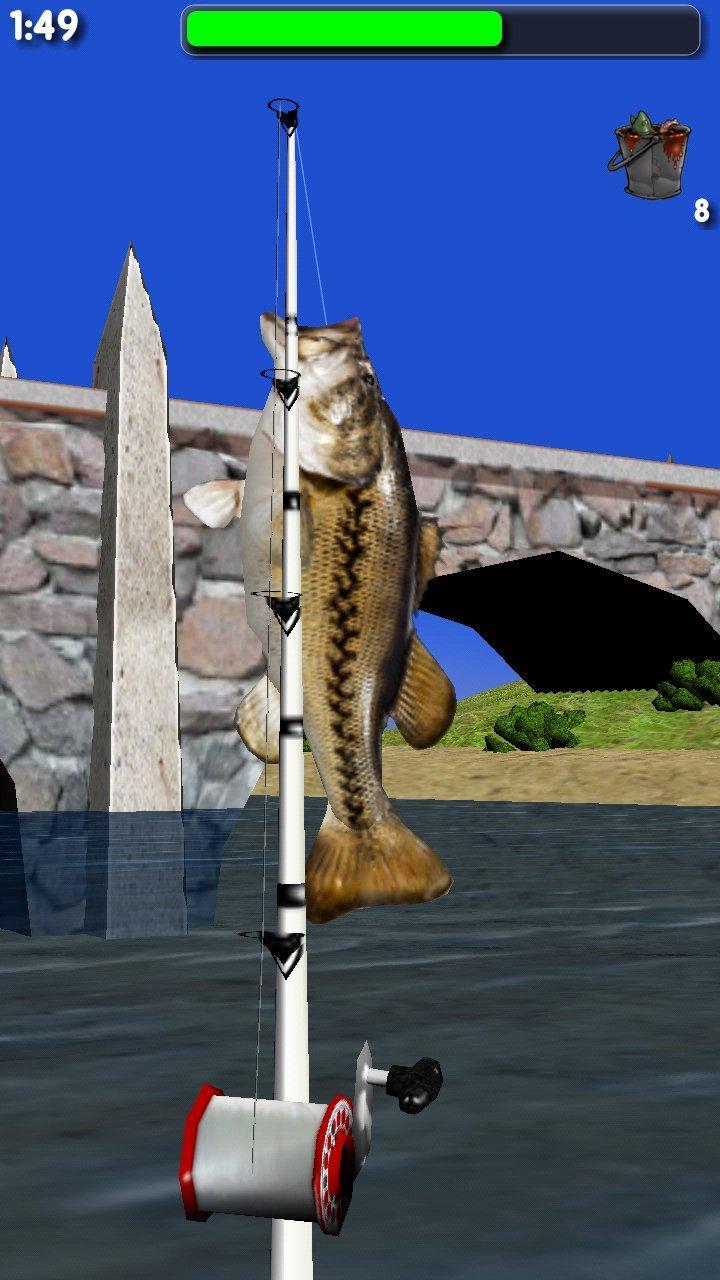Скриншот Big River Fishing 3D Lite