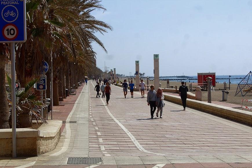 Paseo Marítimo, San Miguel.