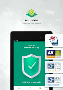 Kaspersky Antivirus & App Lock- screenshot thumbnail