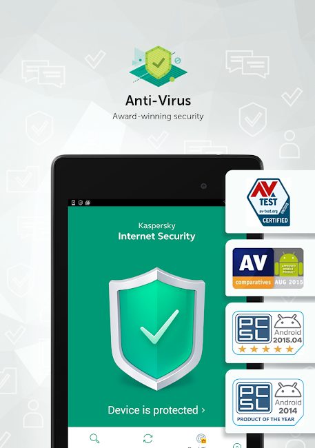 #14. Kaspersky Antivirus & Security (Android)