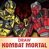 Draw Mortal Kombat