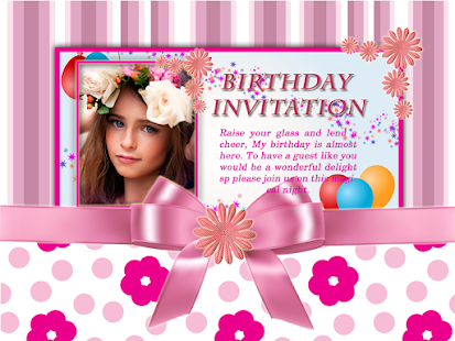 Cool birthday invitation maker apps on google play screenshot image stopboris Choice Image