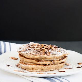 Almond Cranberry Whole Wheat Pancakes.