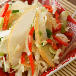 Asian-Style Slaw with Korean Pears Recipe