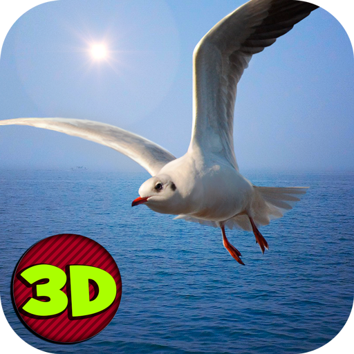 冒險App|Seagull: Sea Bird Simulator 3D LOGO-3C達人阿輝的APP