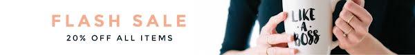 Boss Flash Sale - Etsy Shop Mini Banner Template