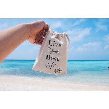 Live your best life 收納袋