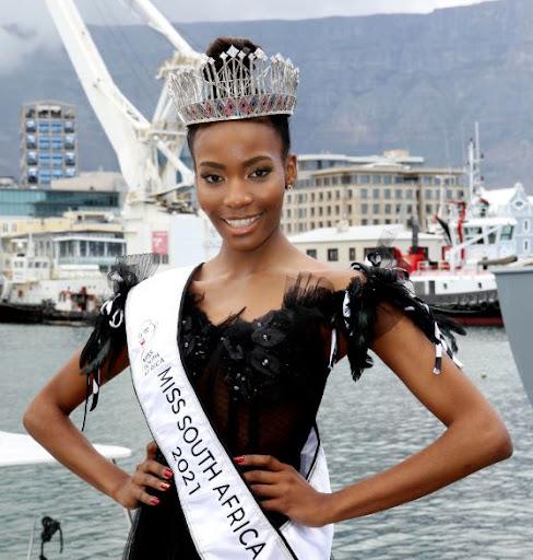 I used to suck my thumb, says new Miss SA