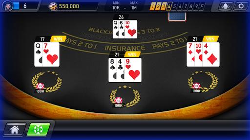 Blackjack Casino 2020: Blackjack 21 & Slots Free screenshots 5