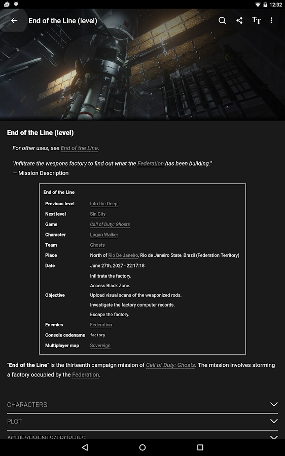 Wikia: Call of Duty – Screenshot