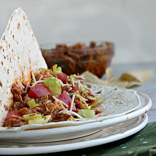 Slow Cooker Mexican Pulled Pork Tacos.