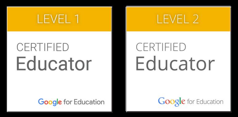 The Google Certified Educator Academies (Online Courses)