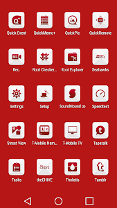 Azer Red - Icon Pack screenshot 6