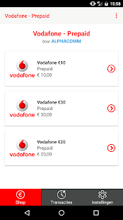 Vodafone - Prepaid- screenshot thumbnail