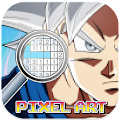 Goku Pixel Art : New Dragonball Coloring By Number APK