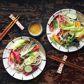 Soba Salad with Lemon–Miso Vinaigrette