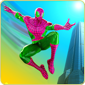 Spider Hero Survival vs Crime City Gangsters War