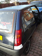 Photo: Renault 5 Gt Turbo Raider Rear Pillar o/s fitted as well as lower bodykit.