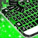 Keyboard Skin Colors Neon icon