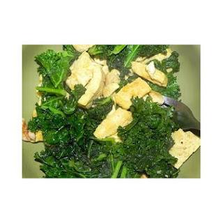 Curried Tofu and Kale Stir Fry