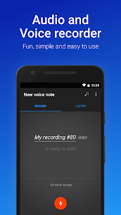 Easy Voice Recorder Pro v2.7.6 Patched MOD APK 1