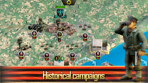 Frontline: Western Front - WW2 Strategy War Game screenshots 12