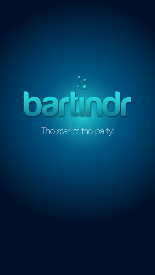 Bartindr- screenshot
