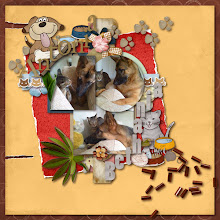 "Photo: Template - Easy To Start Vol. 10 by Camomile Designs Tear it off by Angelle Designs Alpha ""Antonia"", dog plates, brown tag, branch, blue flowers, dog house, blue frame, bone, dog footprints, dog, brown border, brown and blue papers - For Billy by Caroline S Alpha ""Bethania"", cat, cat border, leaves, fish, cat plates, gray frame, mouse, yarn, pink flower, brown flower, white flower, green and red papers - For Maunzi by Caroline S PS CS5"