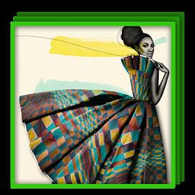 Модное африканское платье