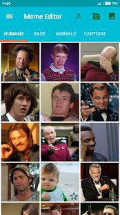 Meme Generator app, Cool create memes, add sticker - náhled
