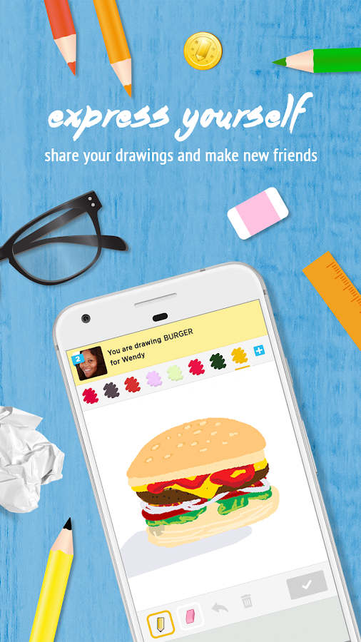 Draw Something by OMGPOP: screenshot