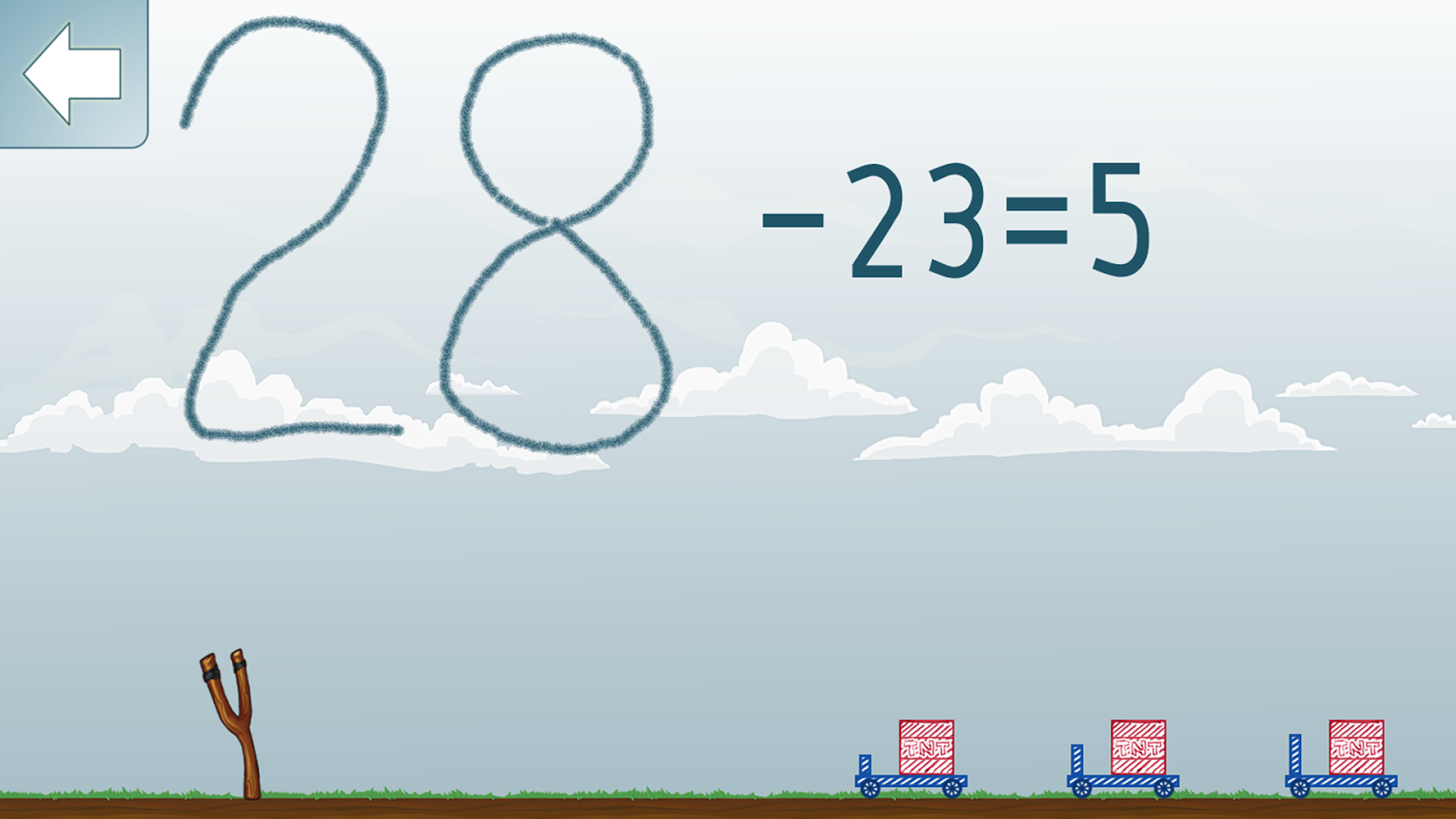Subtraction Math Game- screenshot