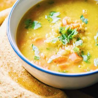 Spiced Red Lentil & Carrot Soup (Vegan, Gluten Free)