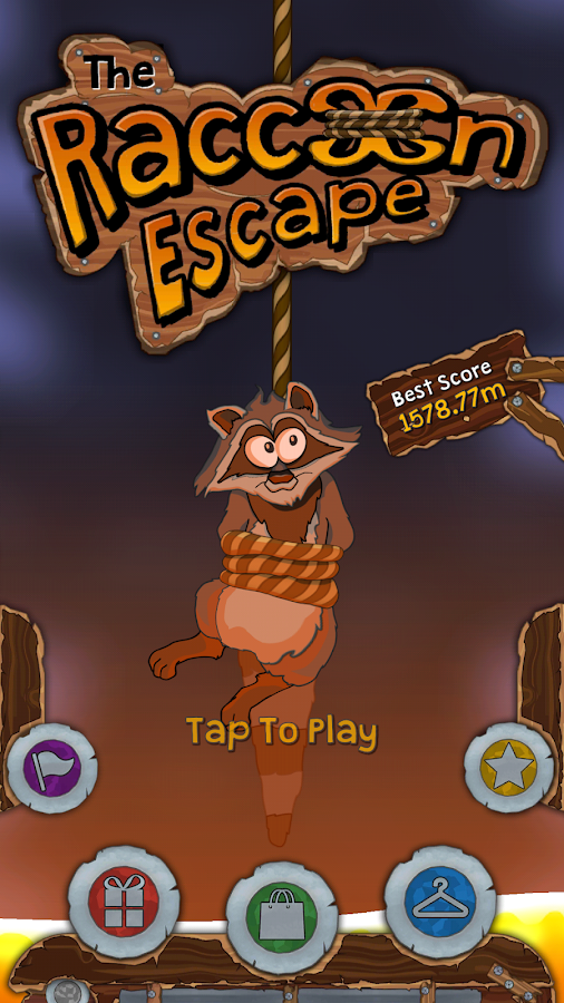 Raccoon Escape- screenshot