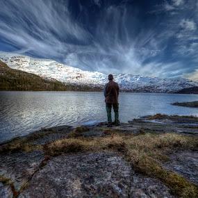 Alone by Sigbjørn Fjellheim - Landscapes Cloud Formations ( hardanger )