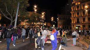 Concentración-cacerolada en Puerta Purchena.