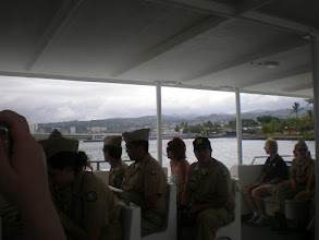 Photo: view of land from the ferry - there was a group of Navy JRTOC on the tour with us
